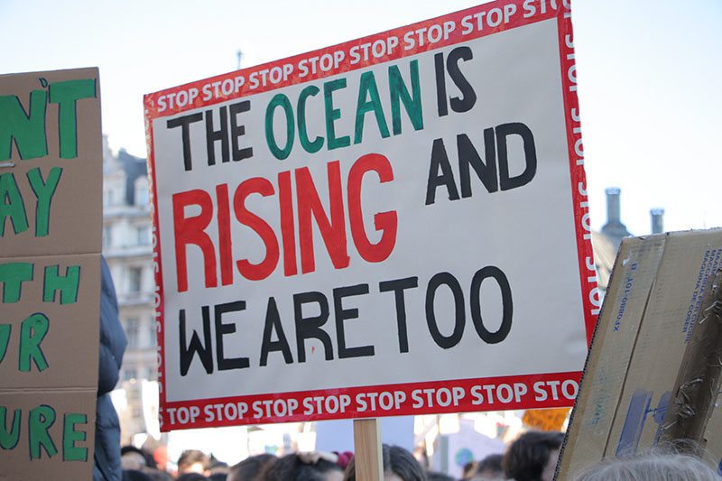 the oceans are rising and we are too